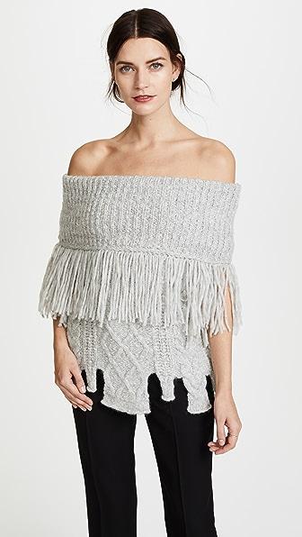 Philosophy di Lorenzo Serafini Fringe Sweater