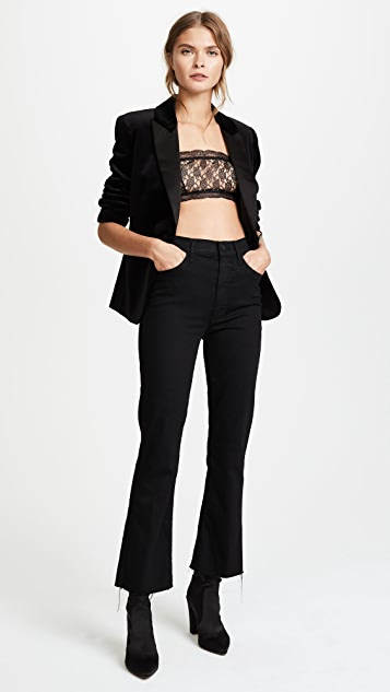 Philosophy di Lorenzo Serafini Lace Cropped Top