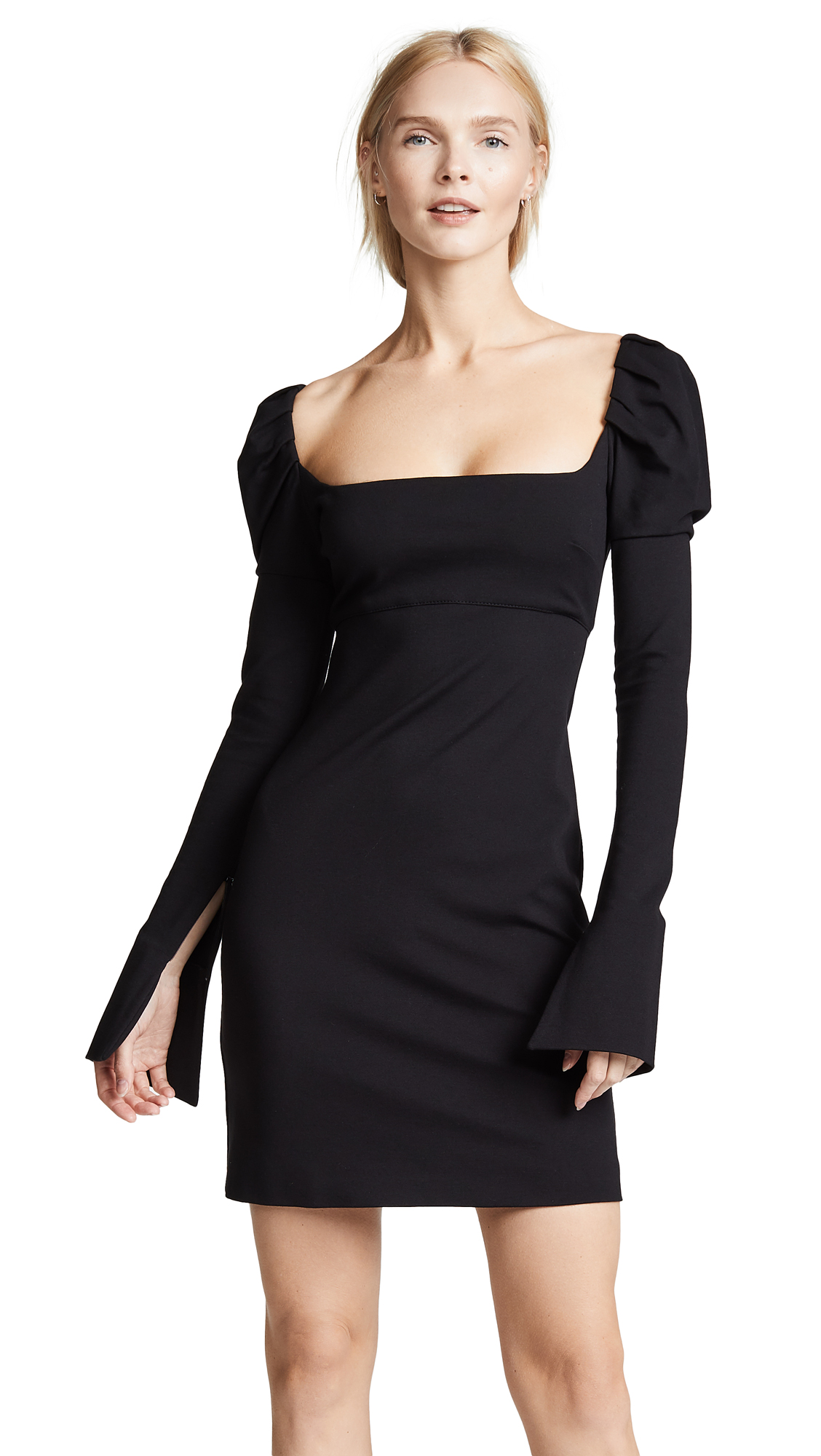 Buy Philosophy di Lorenzo Serafini online - photo of Philosophy di Lorenzo Serafini Mini Puff Sleeve Dress
