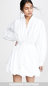 3ebe7c13c7aa Philosophy di Lorenzo Serafini. Tie Neck Puff Sleeve Mini Dress