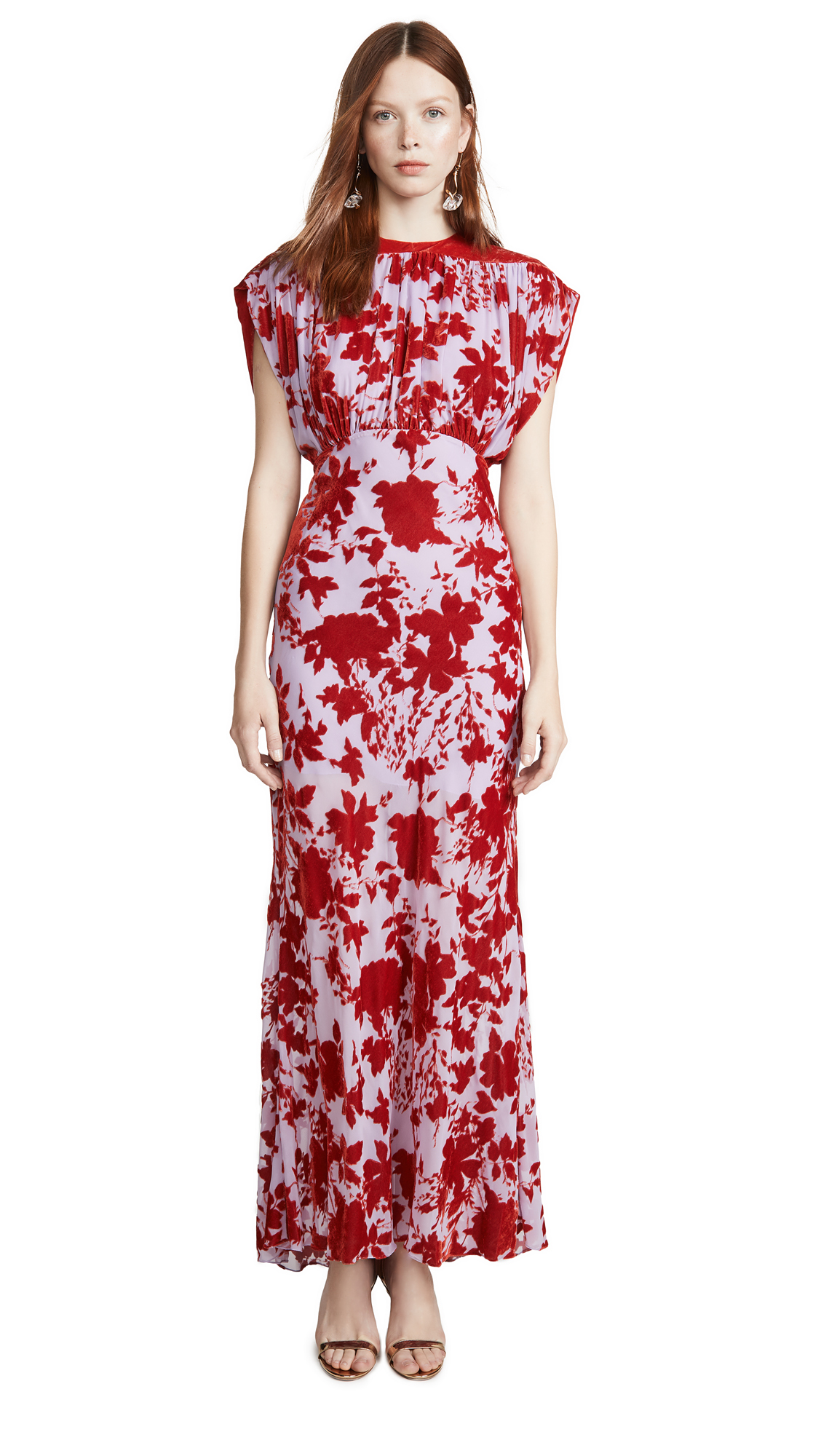 Buy Philosophy di Lorenzo Serafini online - photo of Philosophy di Lorenzo Serafini Floral Gown