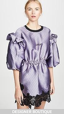 f1f70ae7bca0 Philosophy di Lorenzo Serafini. Puff Sleeve Mini Dress