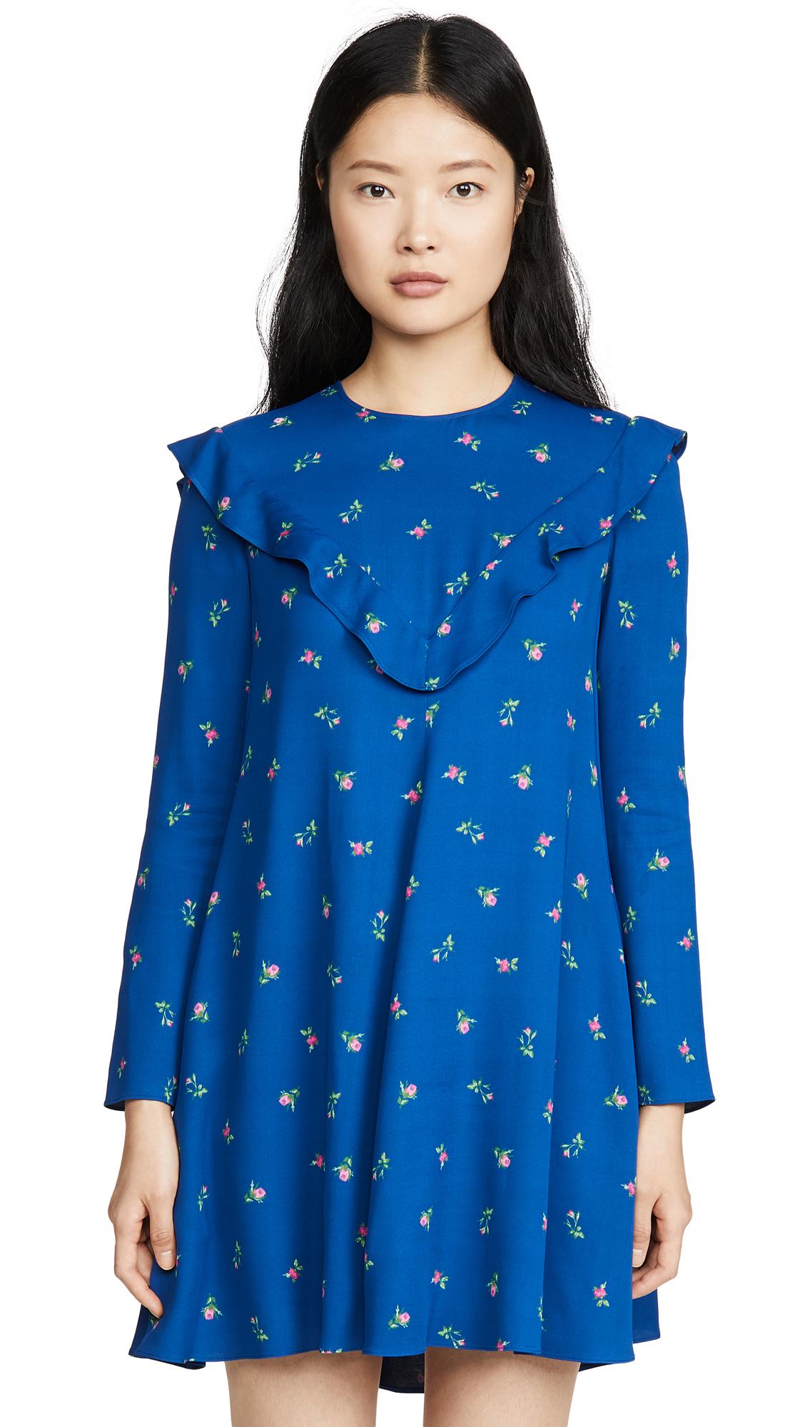 Buy Philosophy di Lorenzo Serafini online - photo of Philosophy di Lorenzo Serafini Floral Long Sleeve Mini Dress
