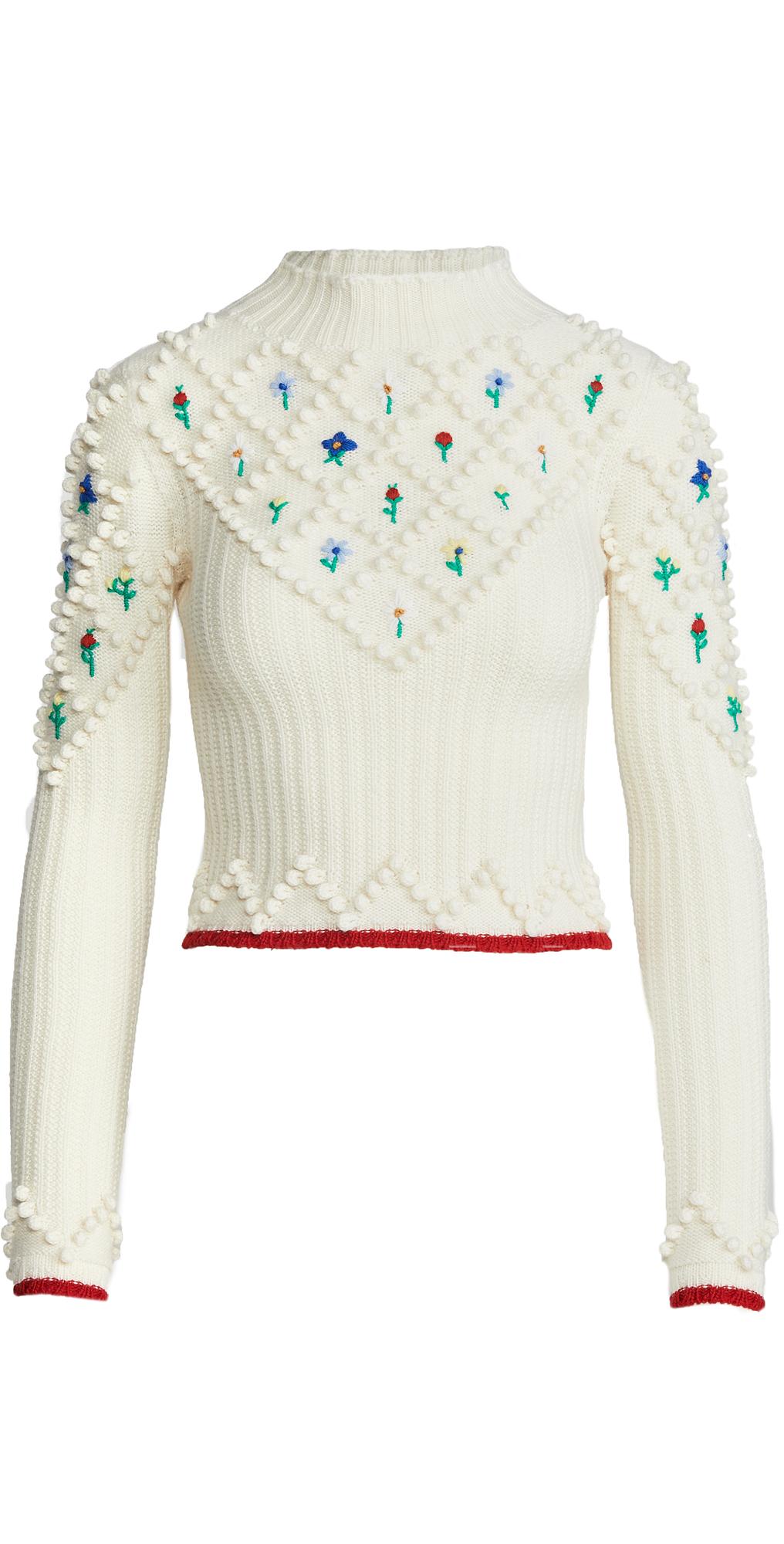 Philosophy di Lorenzo Serafini Floral Sweater | SHOPBOP