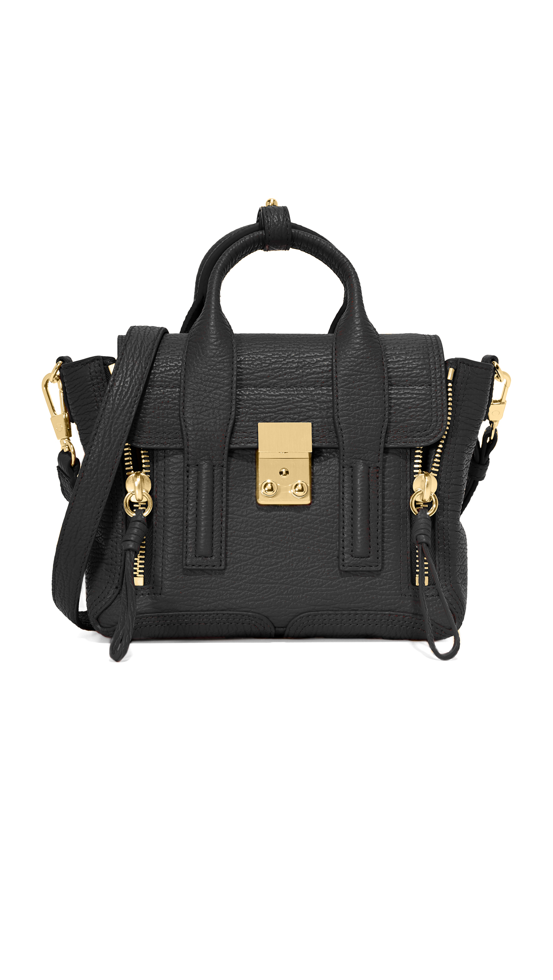 31 phillip lim female 31 phillip lim pashli mini satchel black