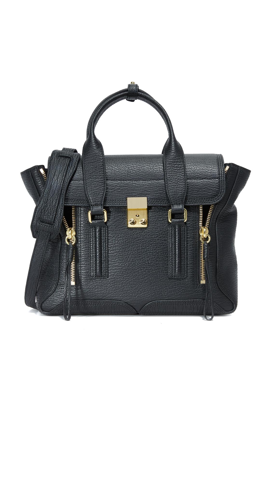 31 phillip lim female 31 phillip lim pashli medium satchel black