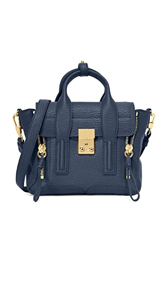 3.1 Phillip Lim Pashli Mini Satchel - Ink