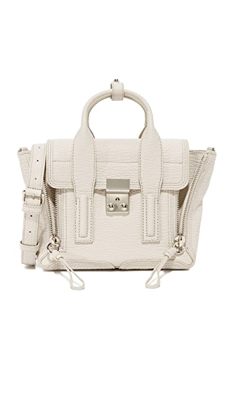 3.1 Phillip Lim Pashli Mini Satchel - Feather