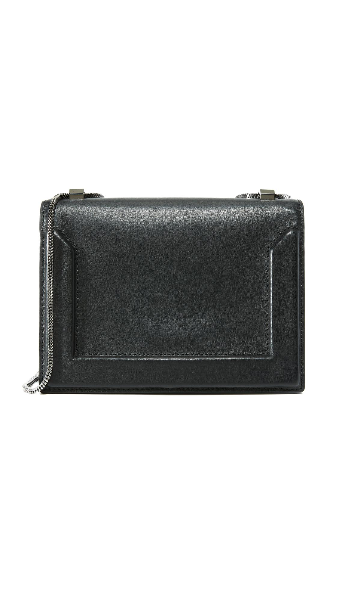 31 phillip lim female 31 phillip lim soleil mini chain shoulder bag black