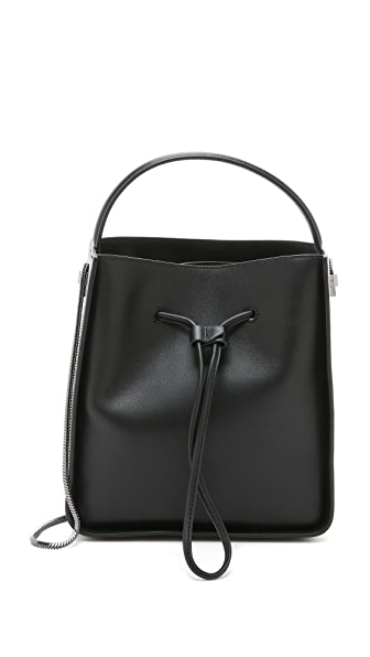 3.1 Phillip Lim Soleil Small Bucket Bag - Black