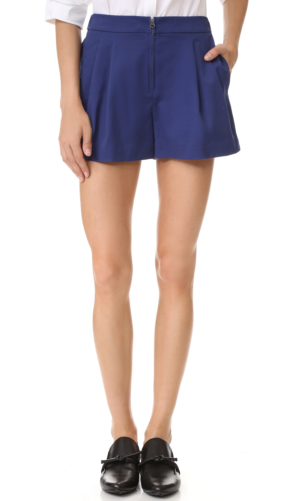 31 phillip lim female 31 phillip lim bloomer shorts ultramarine