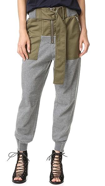 3.1 Phillip Lim Практичные брюки для бега