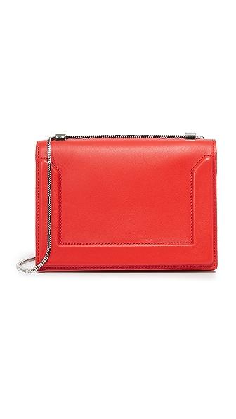 3.1 Phillip Lim Soleil Mini Chain Bag - Cherry at Shopbop