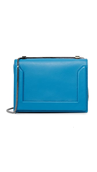 3.1 Phillip Lim Soleil Mini Chain Bag - Adriatic Blue