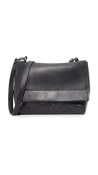 3.1 Phillip Lim Ames Flap Shoulder Bag - Black at Shopbop