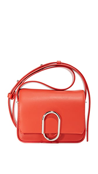 3.1 Phillip Lim Alix Mini Cross Body Bag - Cherry