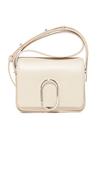 3.1 Phillip Lim Alix Mini Cross Body Bag - Chalk