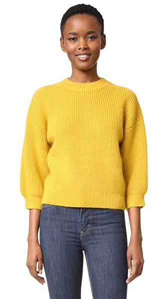 3.1 Phillip Lim Elbow Length Pullover - Gold at Shopbop