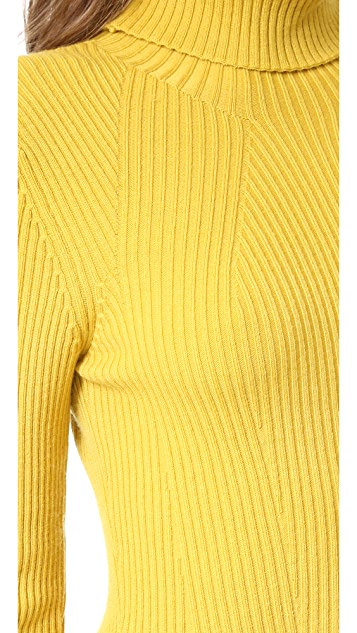 3.1 Phillip Lim Long Sleeve Ribbed Turtleneck