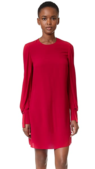 3.1 Phillip Lim Dress With Draped Sleeves - Ruby at Shopbop