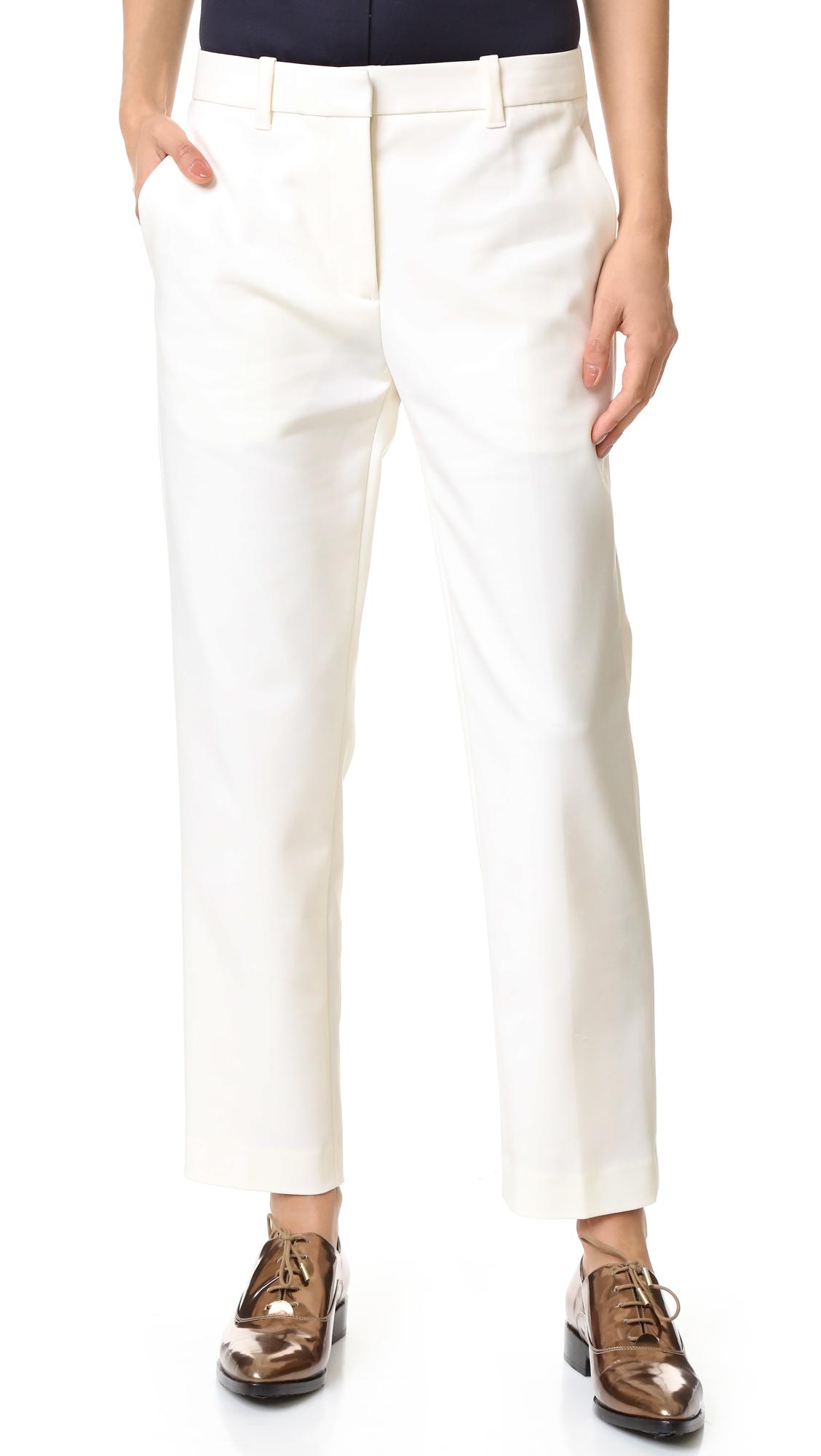 3.1 Phillip Lim Pencil Pants - Antique White