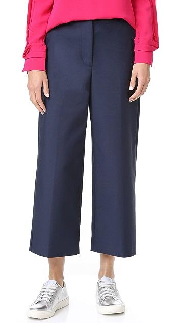 3.1 Phillip Lim Wide Leg Cropped Pants