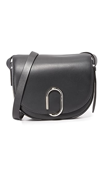 3.1 Phillip Lim Alix Saddle Cross Body Bag - Black