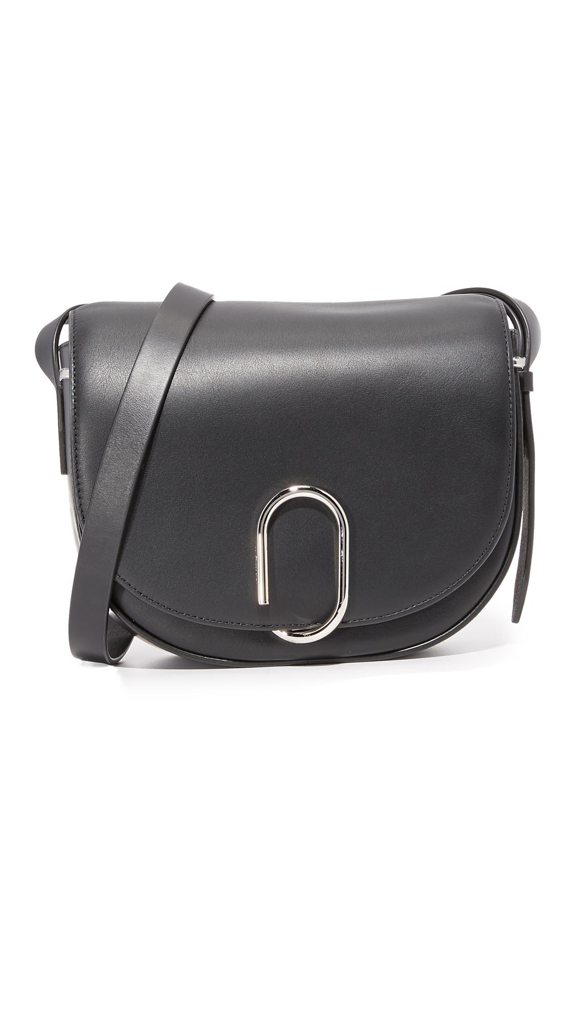3.1 Phillip Lim Alix Saddle Cross Body Bag - Black