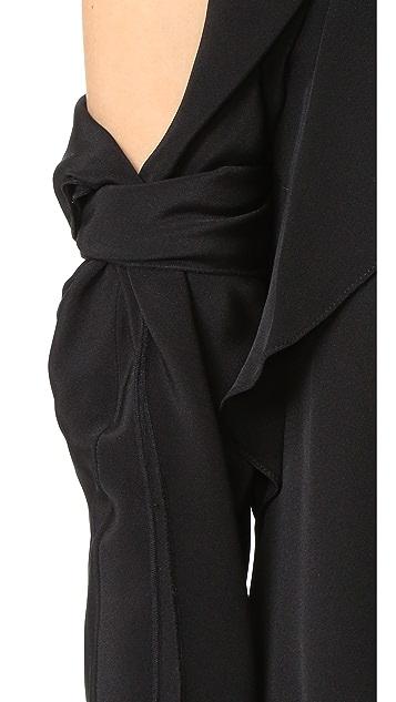 3.1 Phillip Lim Long Sleeve Cold Shoulder Dress