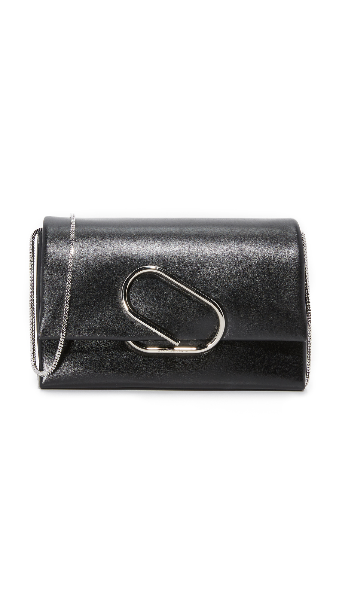3.1 Phillip Lim Alix Flap Shoulder Bag - Black