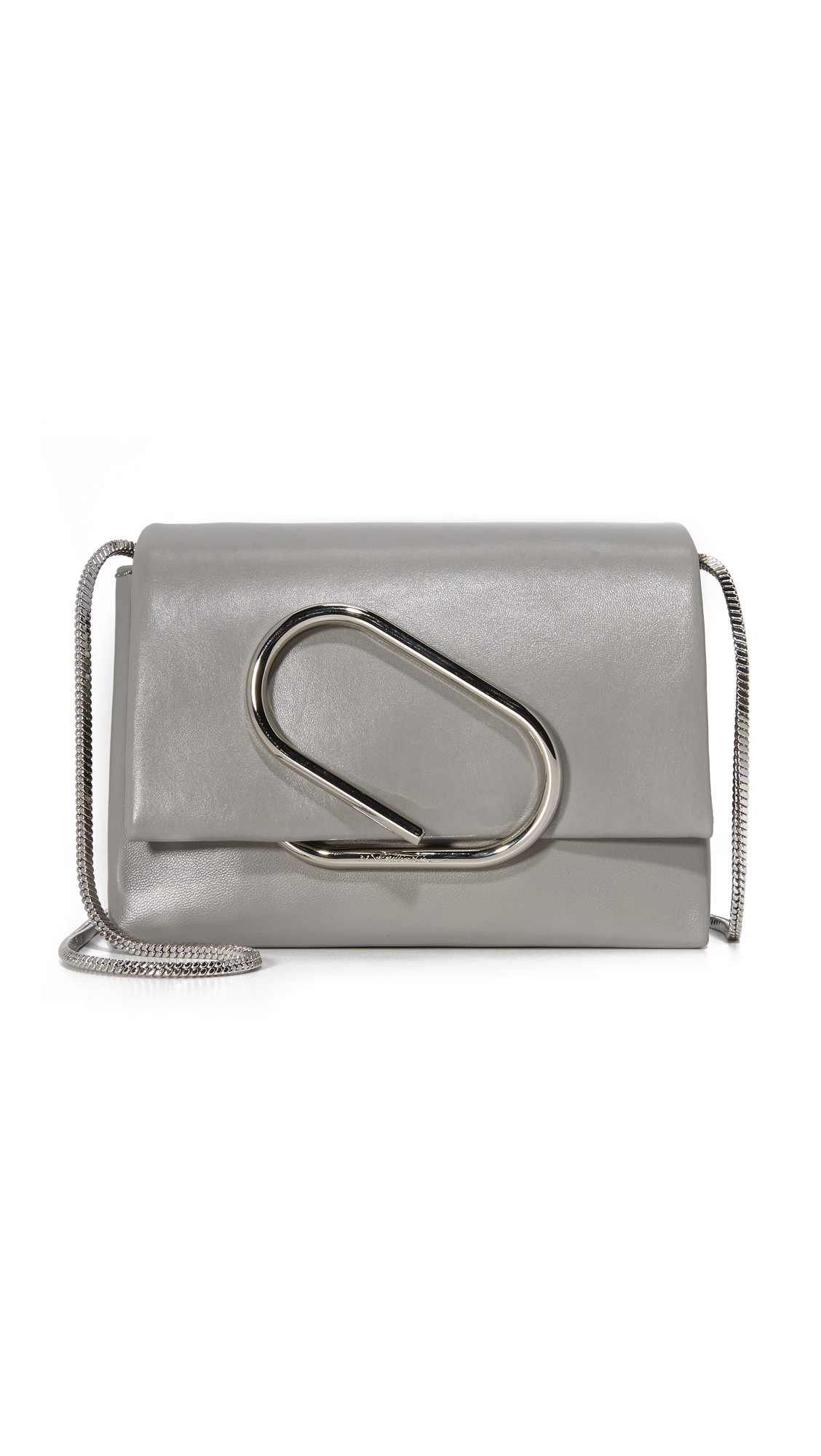 3.1 Phillip Lim Alix Micro Cross Body Bag - Cement