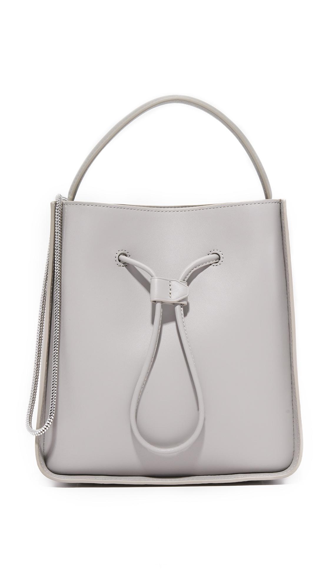 3.1 Phillip Lim Soleil Small Bucket Bag - Cement