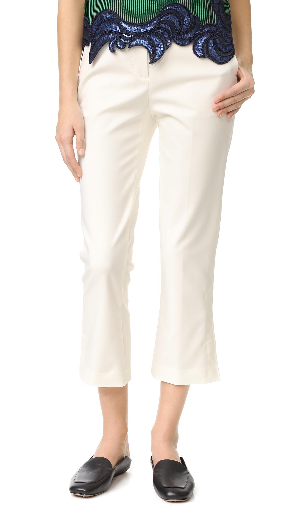 3.1 Phillip Lim Kick Flare Pants - Antique White at Shopbop