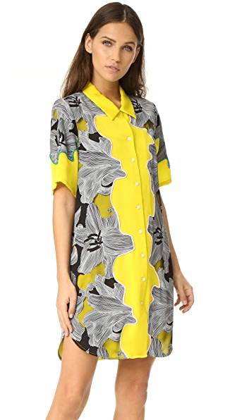 3.1 Phillip Lim Surf Floral Dress at Shopbop