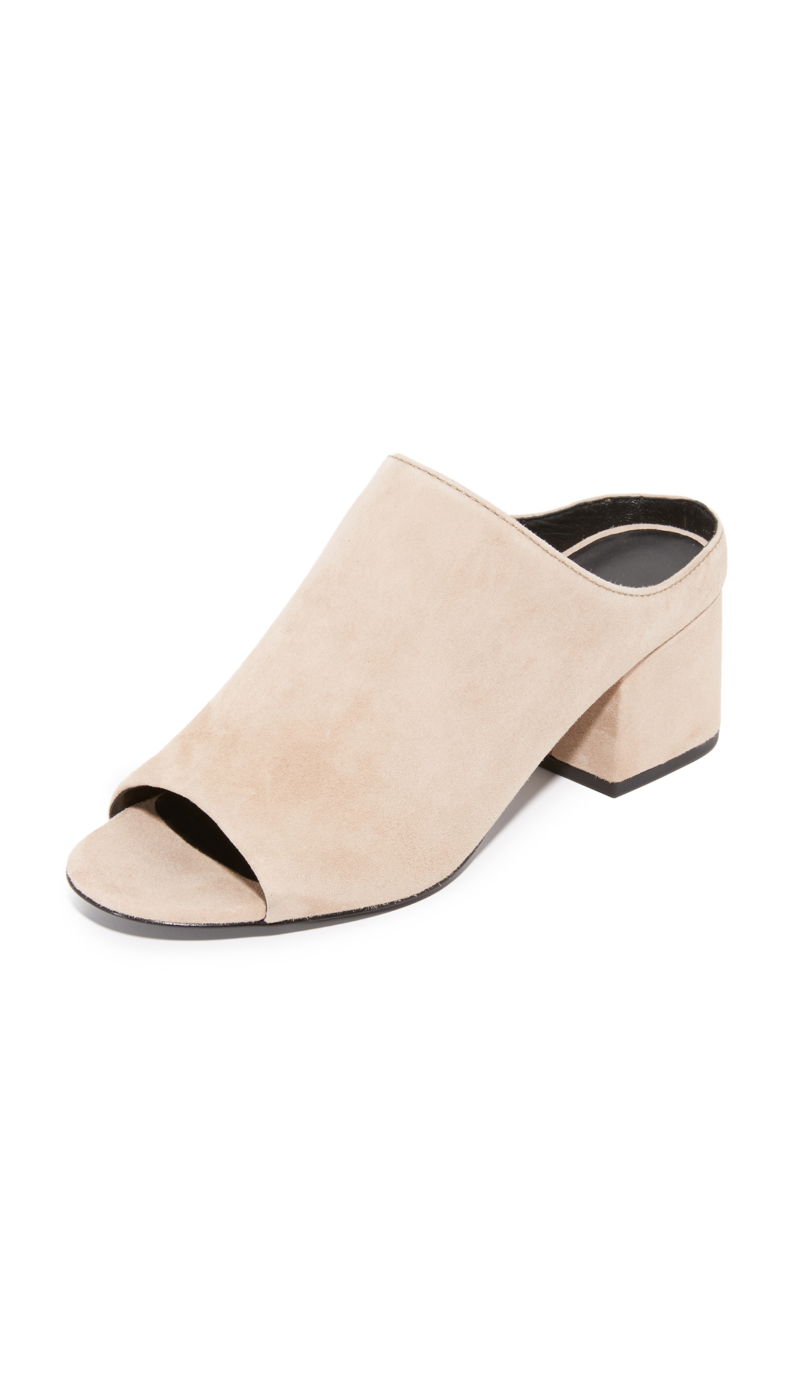 3.1 Phillip Lim Cube Open Toe Mules - Fawn at Shopbop