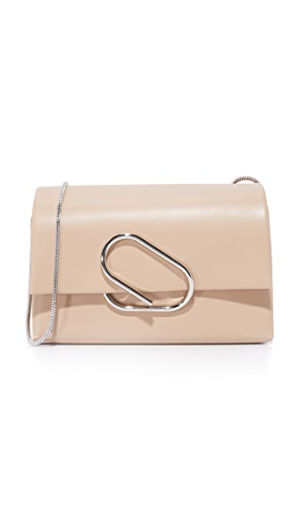 3.1 Phillip Lim Alix Soft Flap Clutch - Fawn