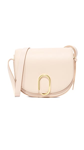 3.1 Phillip Lim Alix Saddle Cross Body Bag - Cashew
