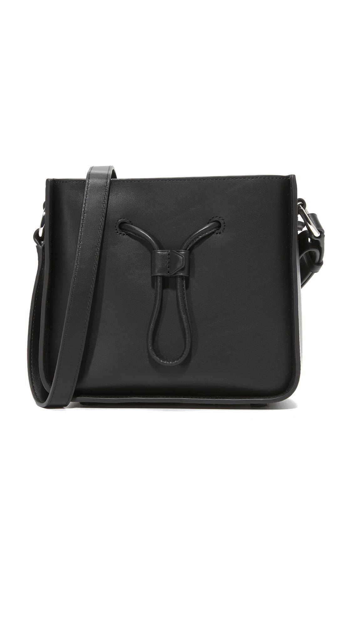 31 phillip lim female 31 phillip lim soleil mini bucket drawstring bag black
