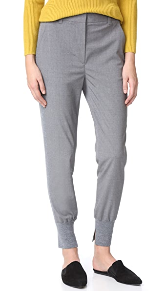 3.1 Phillip Lim Jogger Pants In Grey Melange