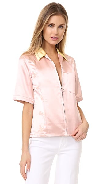 3.1 Phillip Lim Рубашка на молнии Western