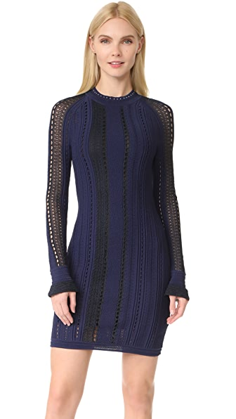 3.1 Phillip Lim Pointelle Lace Dress