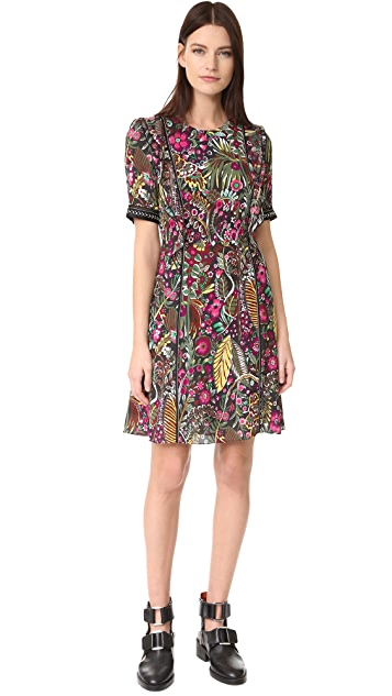 3.1 Phillip Lim Wild Things Floral Dress