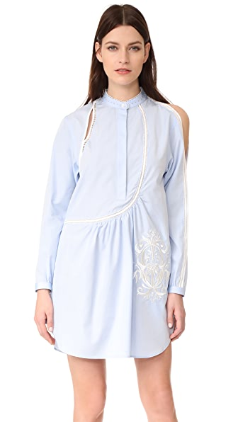 3.1 Phillip Lim Платье Victoriana с вышивкой крестом