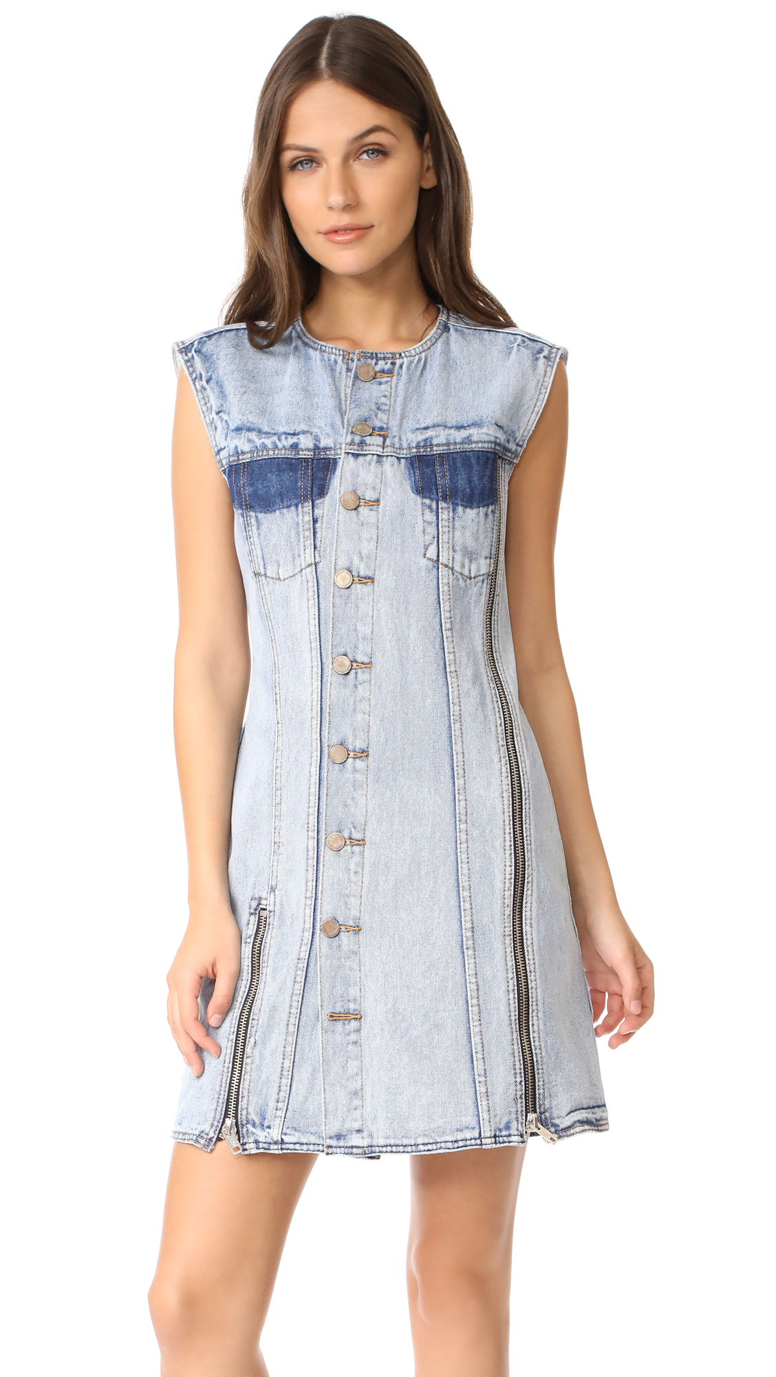 3.1 Phillip Lim Asymmetrical Denim Dress