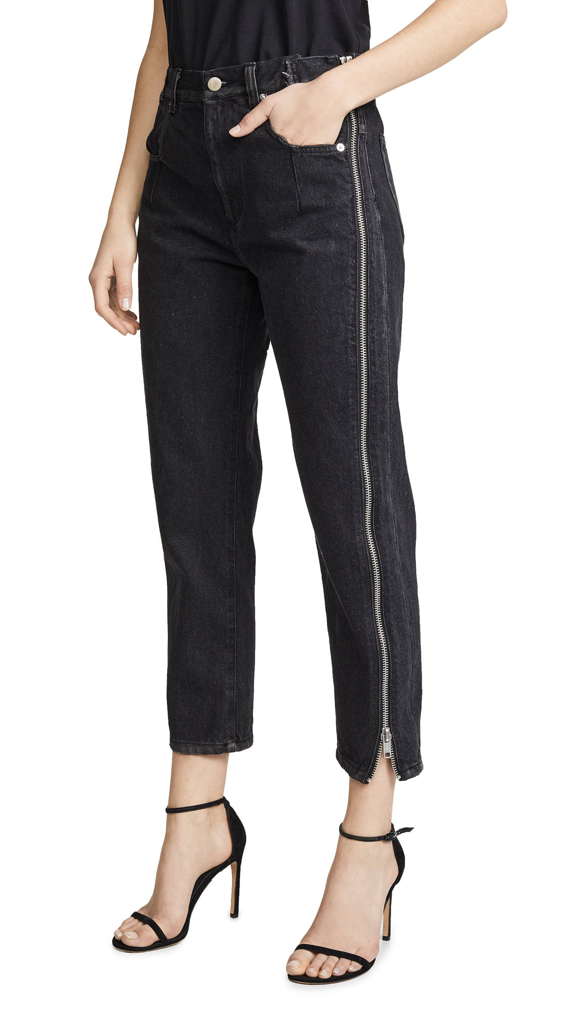 Buy 3.1 Phillip Lim online - photo of 3.1 Phillip Lim Straight Jeans with Zipper