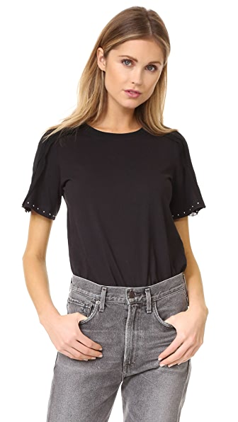 3.1 Phillip Lim Tee with Topstitch Ribbon at Shopbop