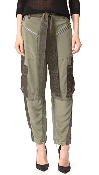 3.1 Phillip Lim Utility Cargo Pants - Sage