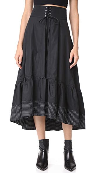3.1 Phillip Lim Skirt with Victorian Waist