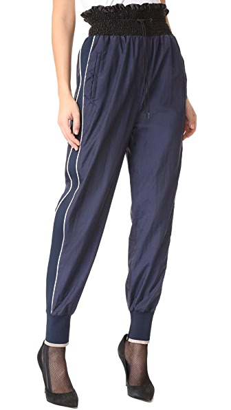3.1 Phillip Lim Smocked Jogger Pants