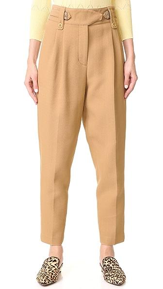 3.1 Phillip Lim Belted Pants In Camel